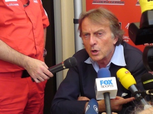 Montezemolo ; Legal challenge to cost cap?